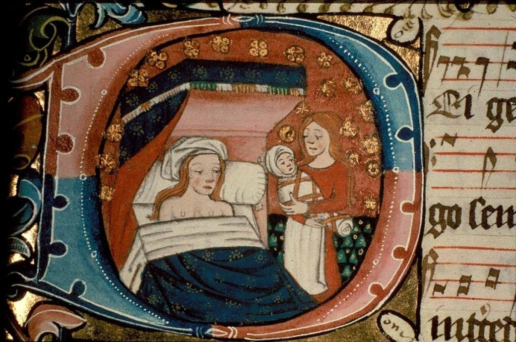 Midwives were once believed to be practicing witchcraft