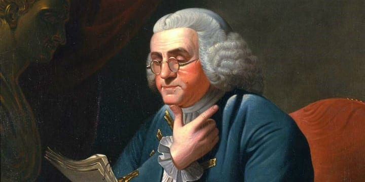 The skeletons in Ben Franklin's closet (both literal and figurative)