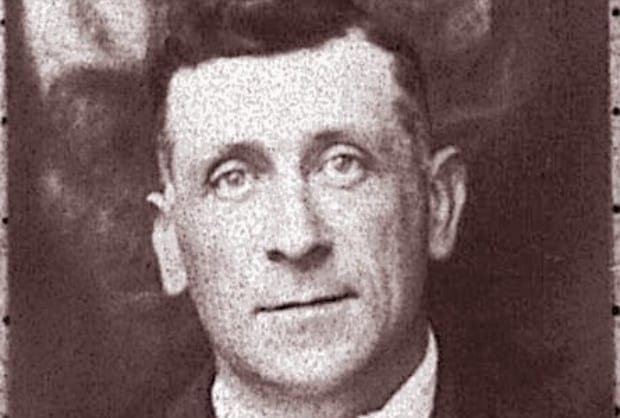 photo of John Dilley, witness to the Titanic coal fire