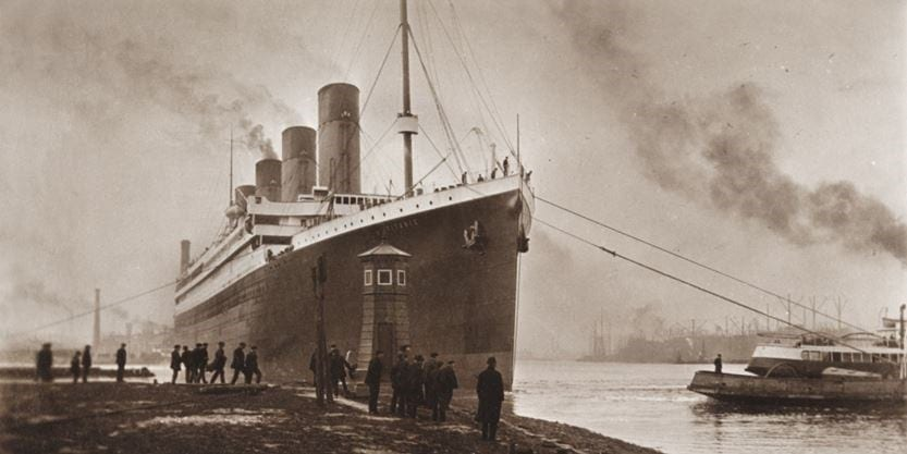 Newly discovered Titanic photos offer clues to why it sank so quickly