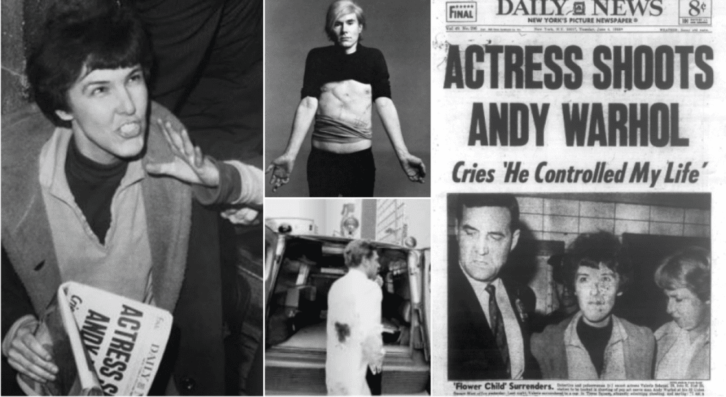The paranoid schizophrenic actress who almost killed Andy Warhol in 1968