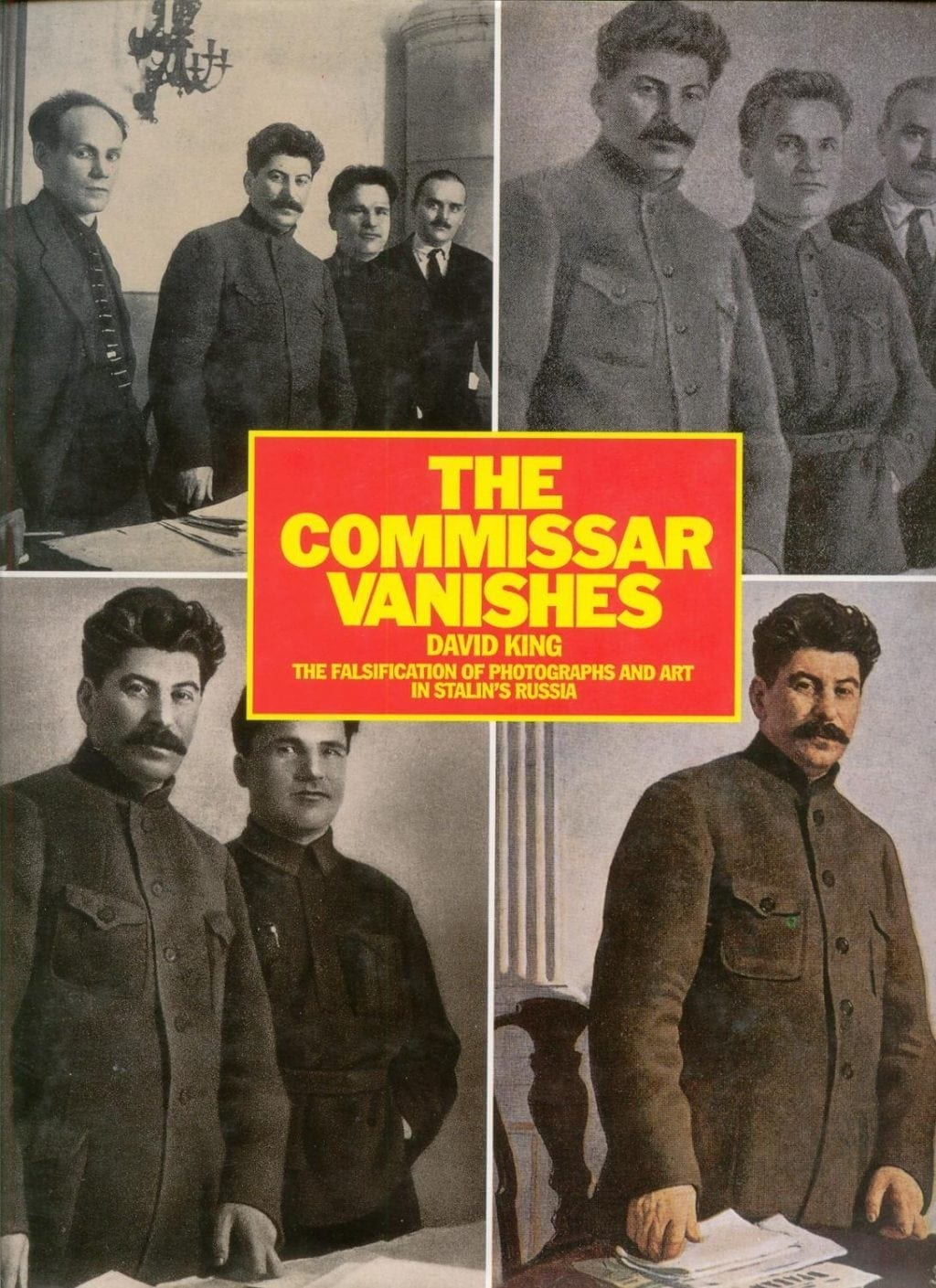 The world's first Photoshop expert: Stalin's history of the Soviet Union