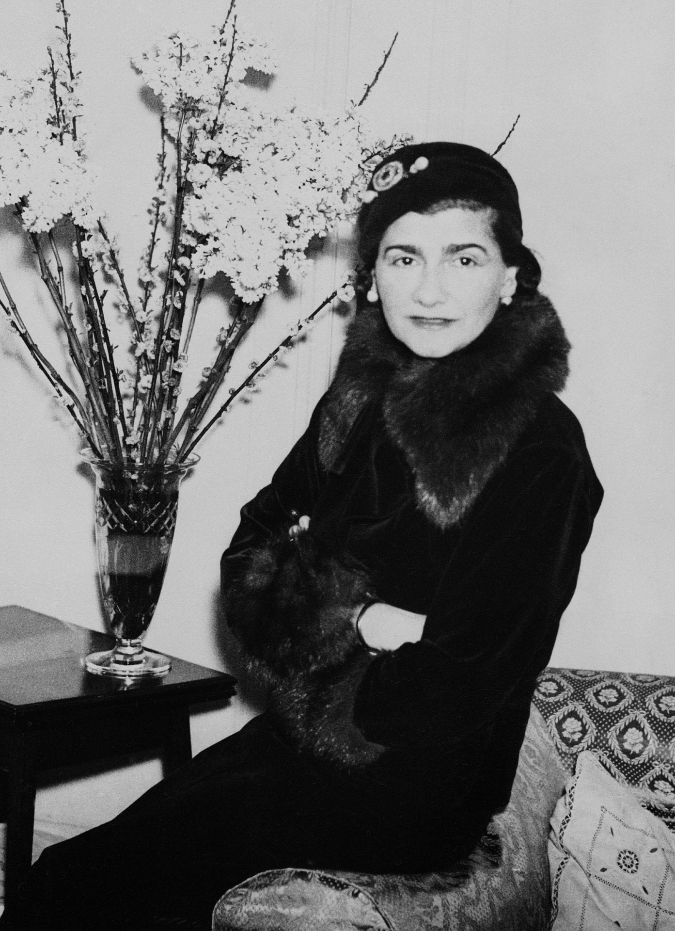 Fashion : Coco Chanel In London 1932