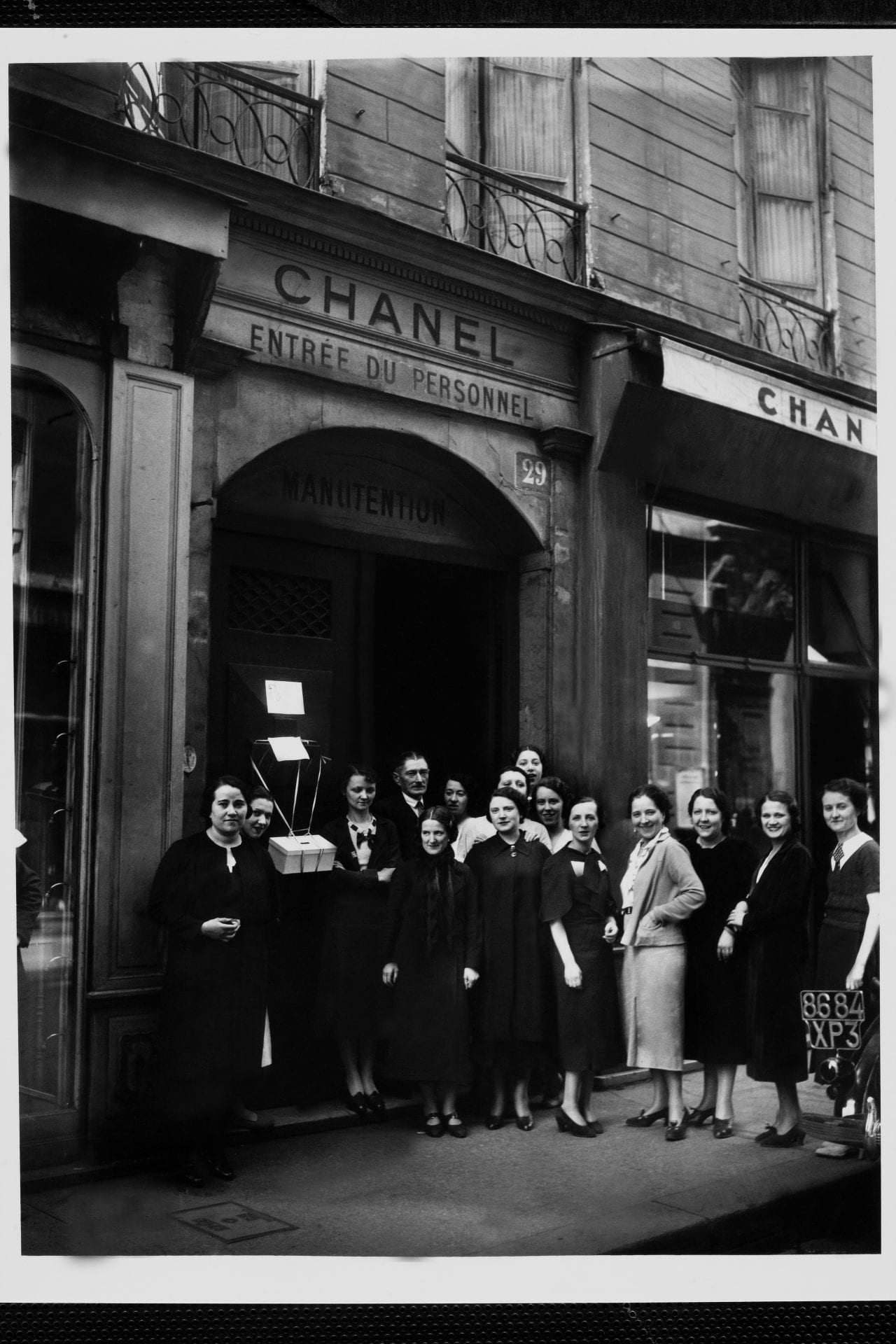 Strike In Chanel Fashion House In Paris On 1938