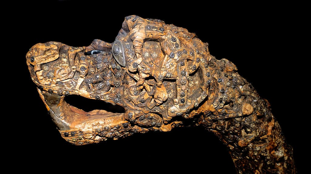 animal ornamentation of the Viking Age found at Oseberg