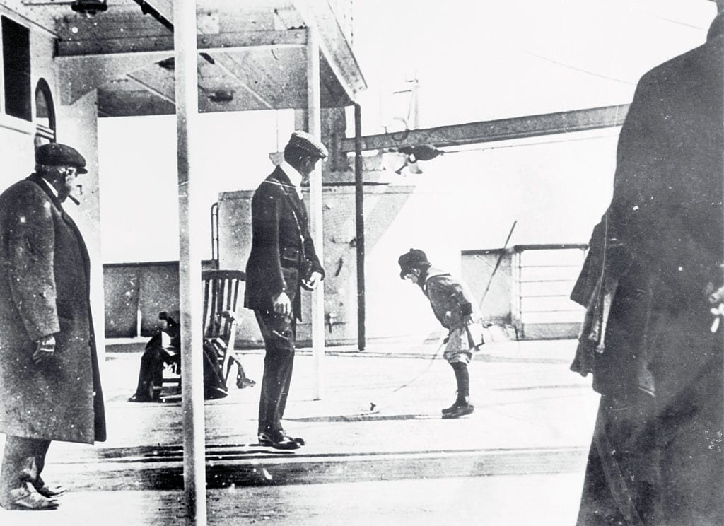 Playground Deck on the Titanic
