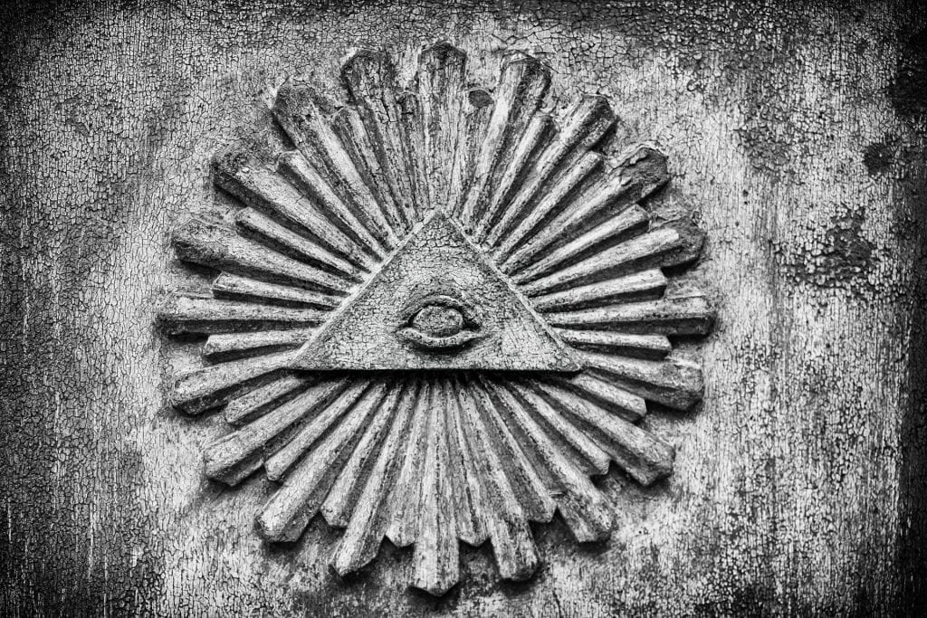 Image of the all seeing eye