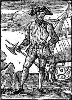 Infamous pirate Benjamin Hornigold once raided a ship just for their hats