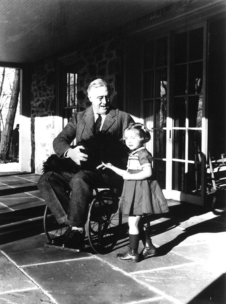FDR On The Porch