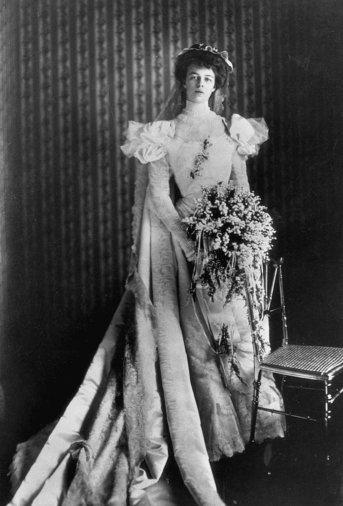 Eleanor Roosevelt in Wedding Dress