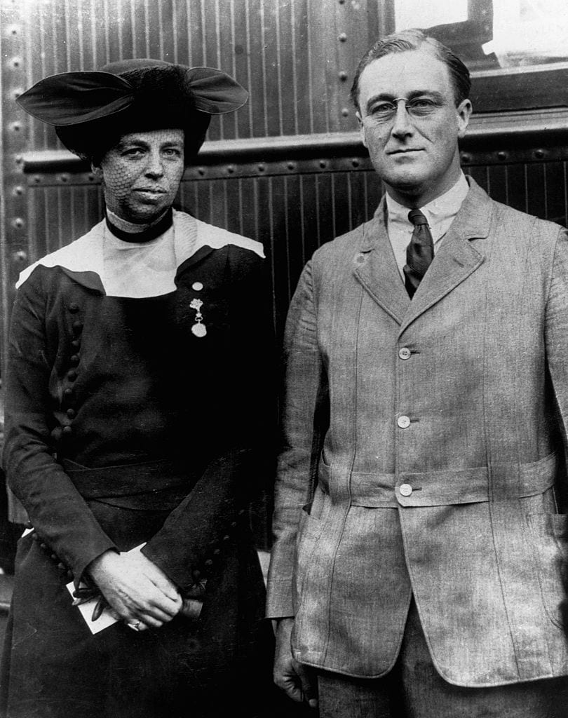 Franklin D. Roosevelt and Eleanor Roosevelt