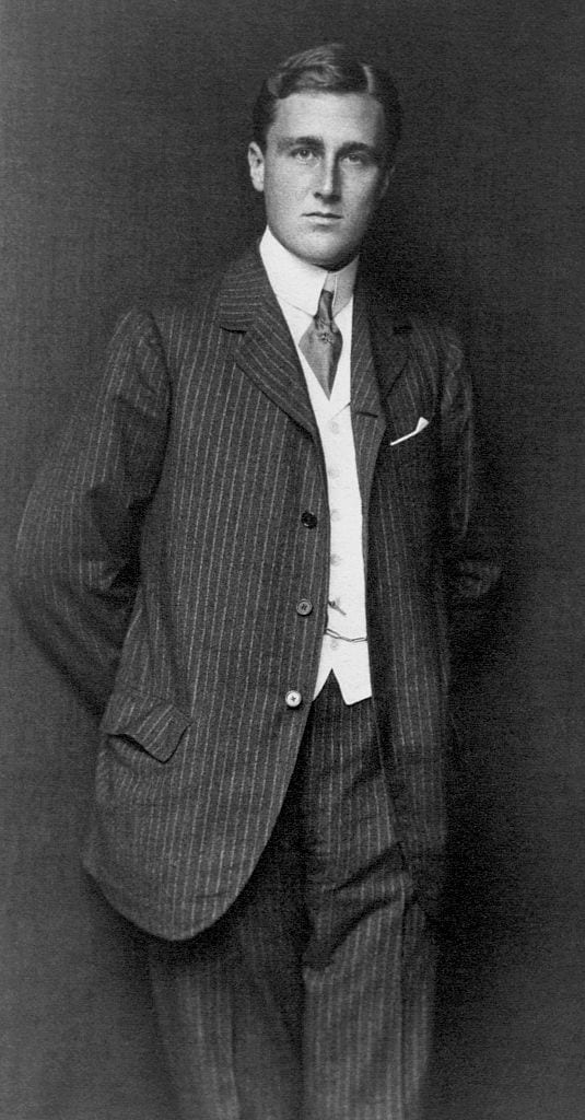 Franklin Delano Roosevelt as a Young Man