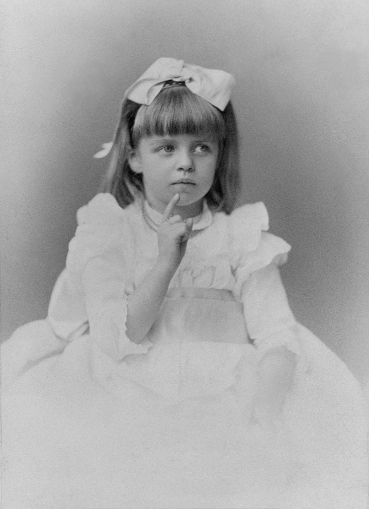 Eleanor Roosevelt as a Child