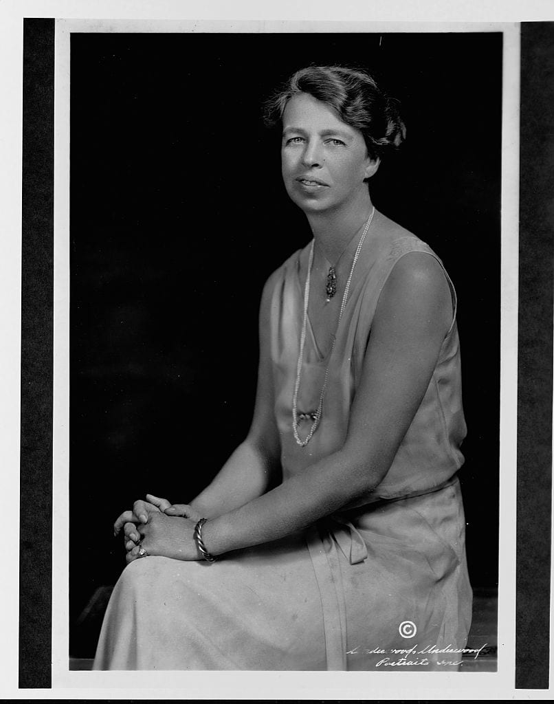 Portrait of Eleanor Roosevelt