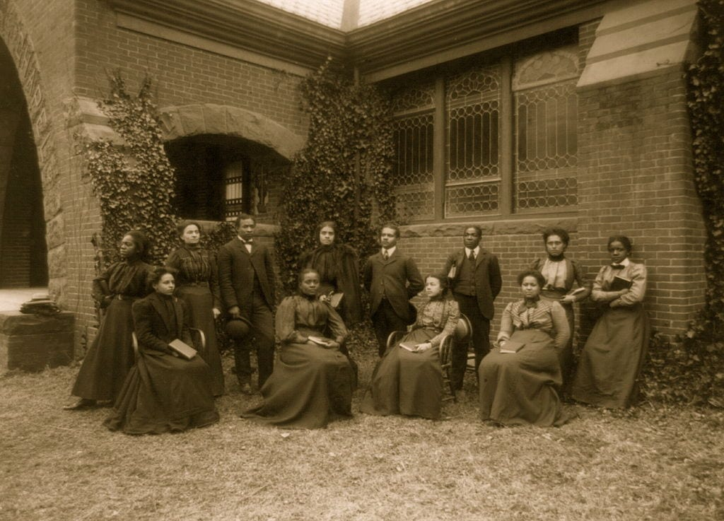 Practice school teachers at Howard University, Washington, D.C.