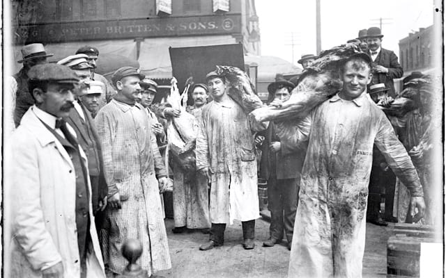 http://www.ourgreatamericanheritage.com/2015/09/disease-death-and-child-labor-the-birth-of-the-meatpacking-industry-in-chicago/