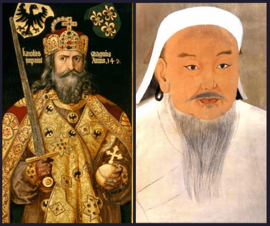 Who's your daddy? The genetic expansion of Charlemagne and Genghis Khan