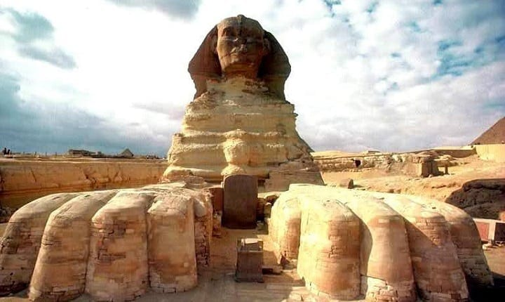 Ancient Egyptian sphinx has been discovered in the Valley of the Rams