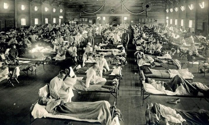 The influenza that killed nearly five percent of the world's population