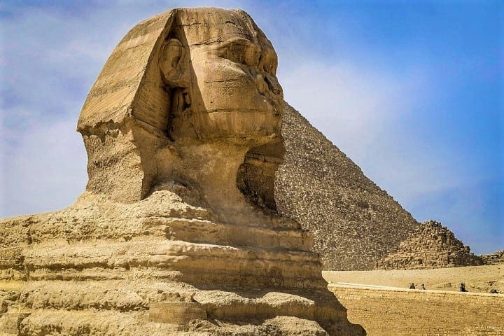 The legendary Sphinx is much more than just a monument in Giza