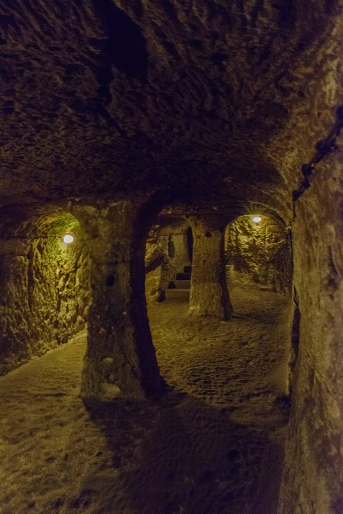 Underground tunnels of Derinkuyu