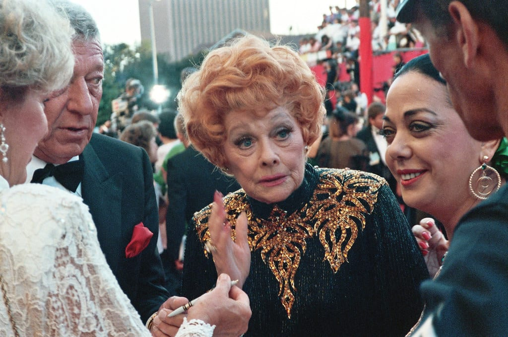 last known photo of lucille ball