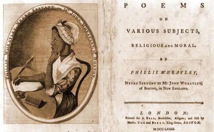 October 18, 1775: Phillis Wheatley is freed from slavery