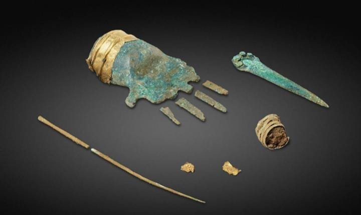 3,500-year-old metal hand unearthed in Switzerland