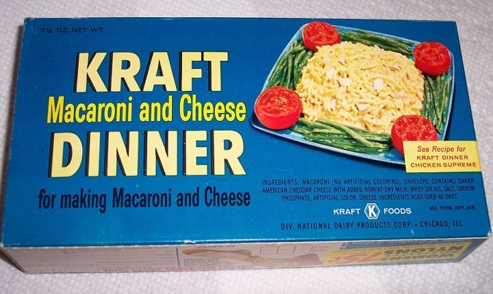 How a war popularized Kraft mac n' cheese