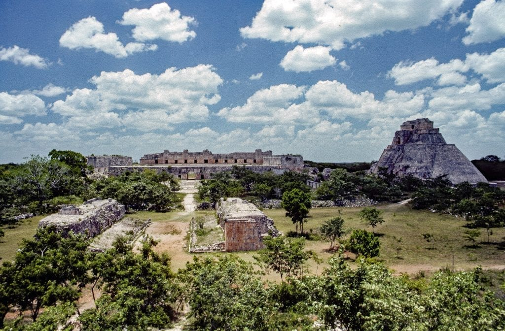 What happened to the ancient Mayans?