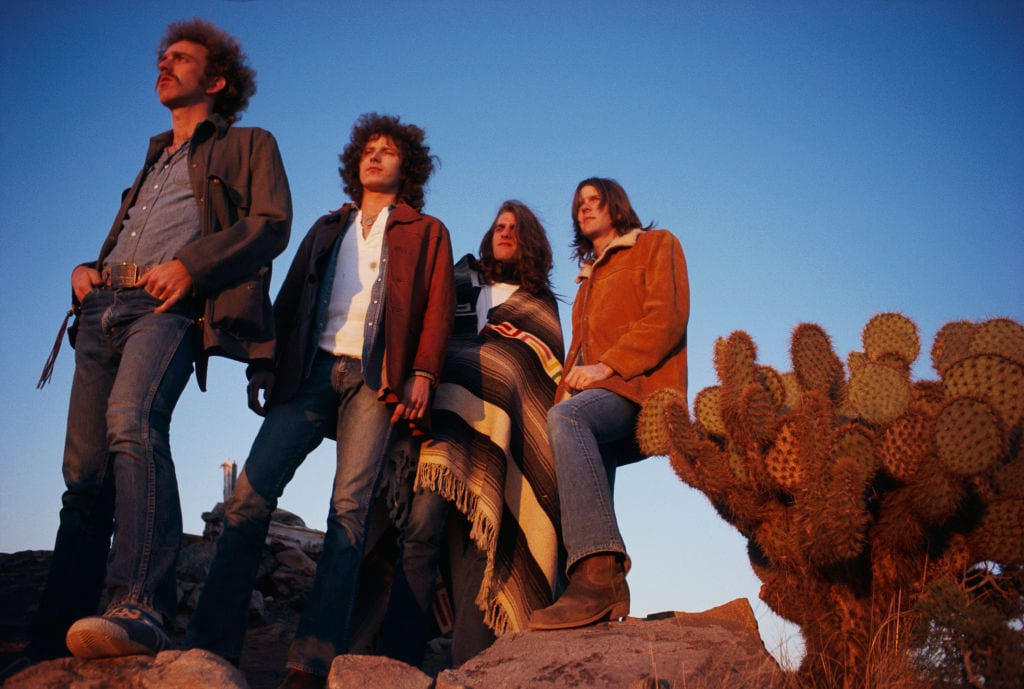 Rock Band The Eagles in Desert Valley