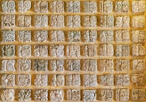 writing-ancient-Mayans-Yucatan-Peninsula-Mexico