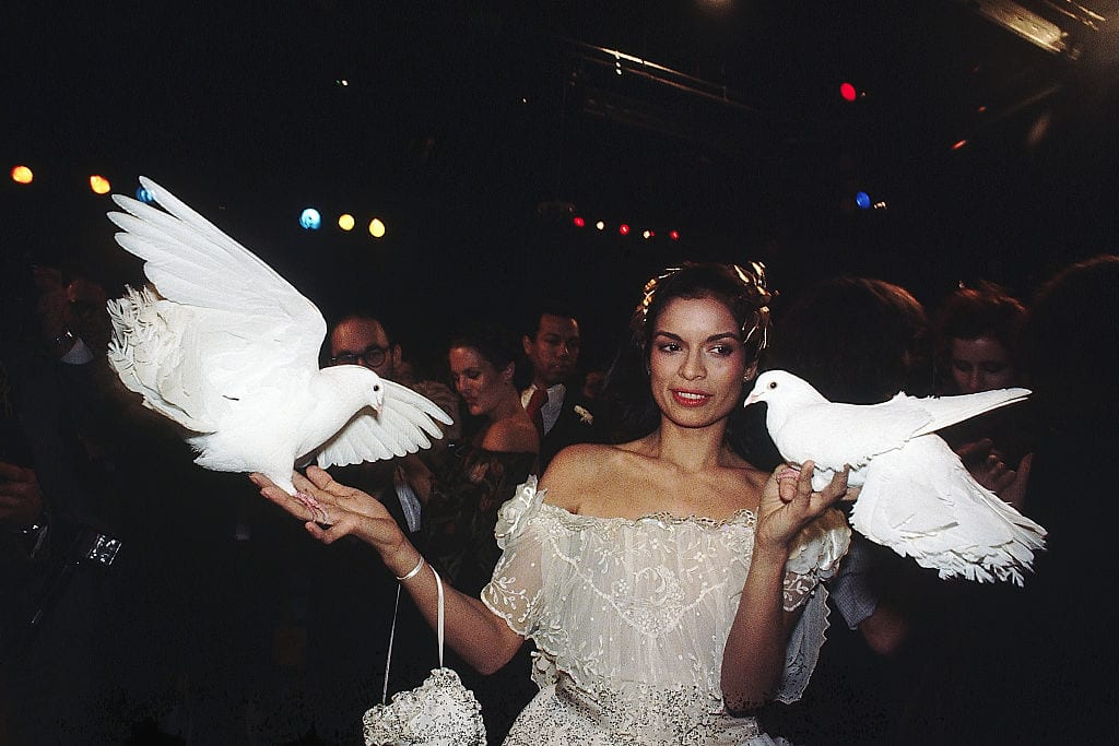 Bianca Jagger at Studio 54