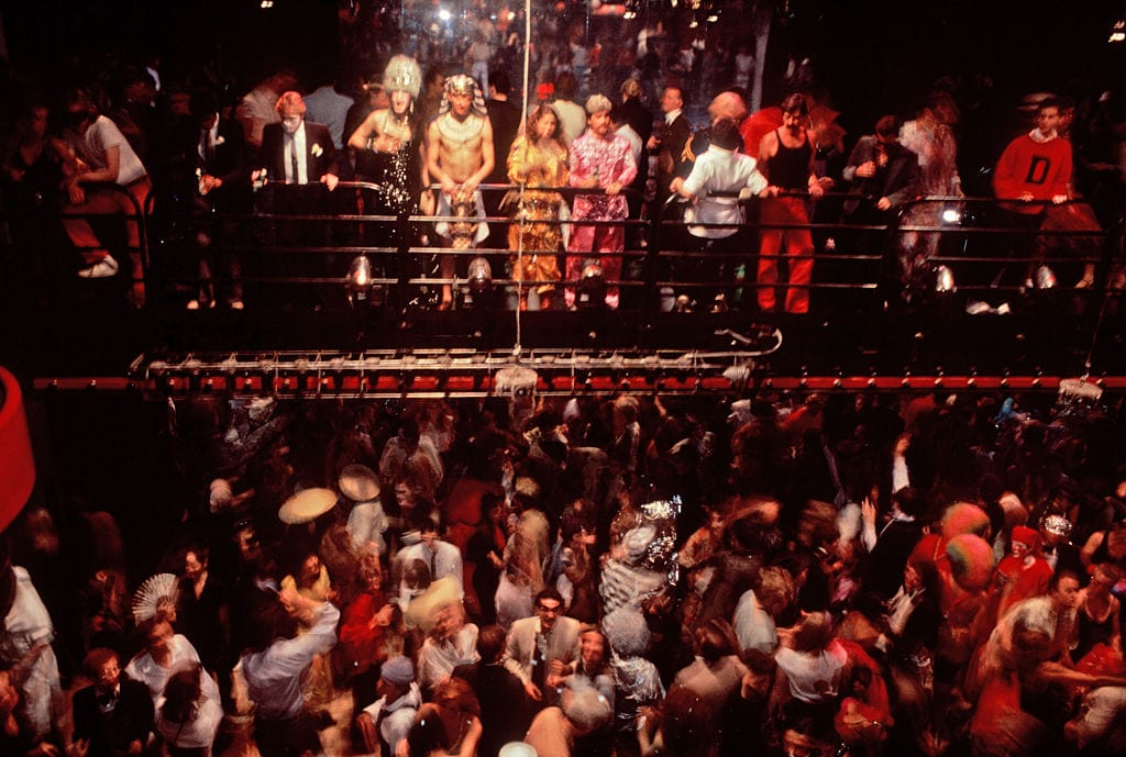 Studio 54 Bridge in the club