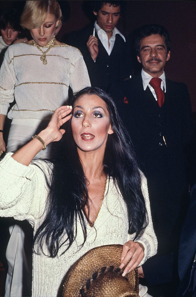 Steve Rubell & Cher At Studio 54