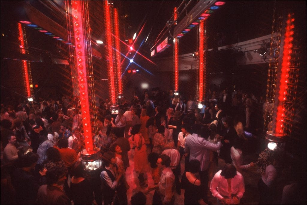 Studio 54 dance floor
