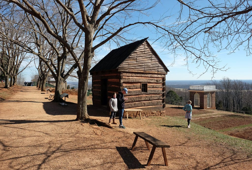 the iron storehouse at Monticello
