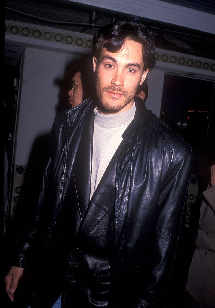 Photo of Brandon Lee before his death