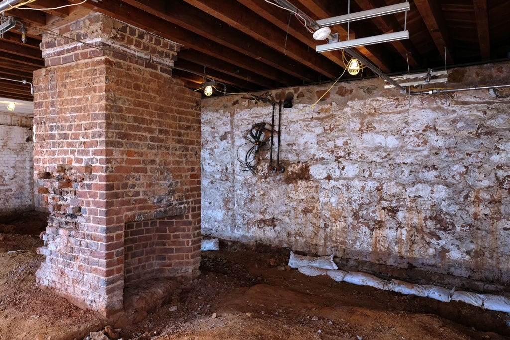 renovations at Jefferson's Monticello's estate
