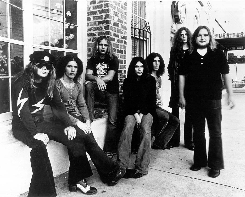 Photo of Leon WILKESON and Ed KING and Gary ROSSINGTON and Billy POWELL and LYNYRD SKYNYRD and Ronnie VAN ZANT and Allen COLLINS
