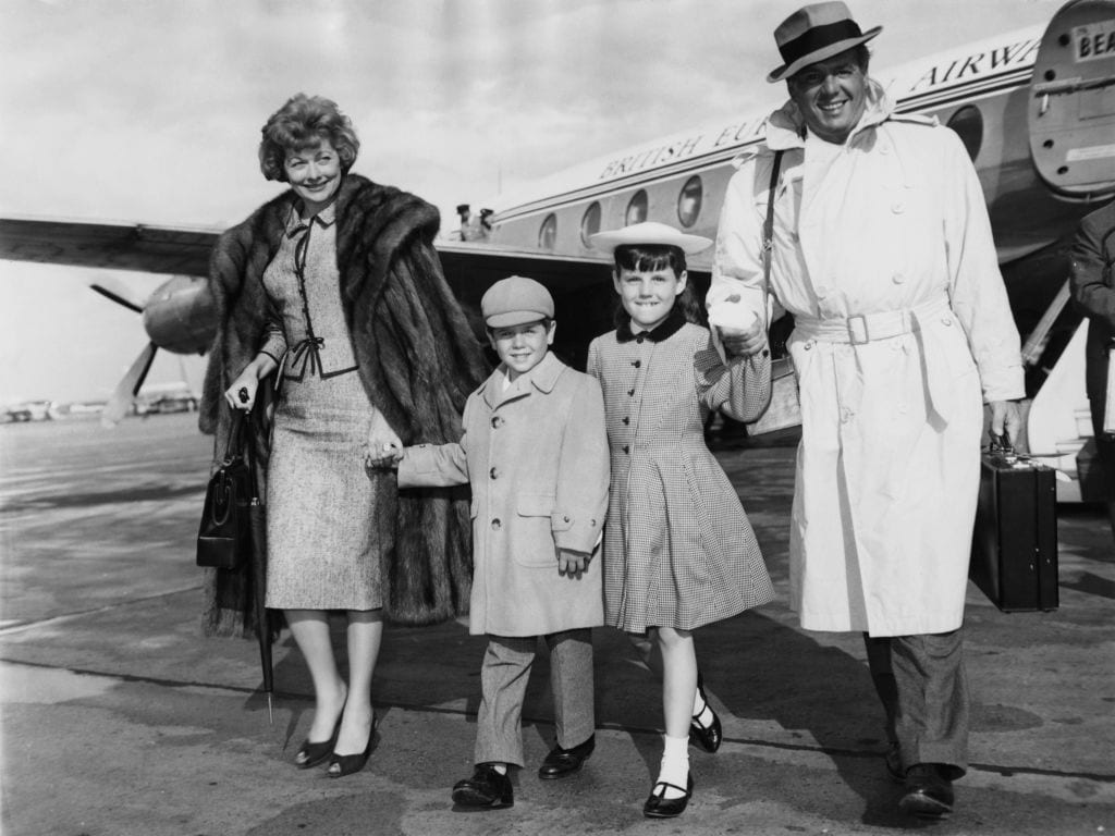 Lucille Ball And Family