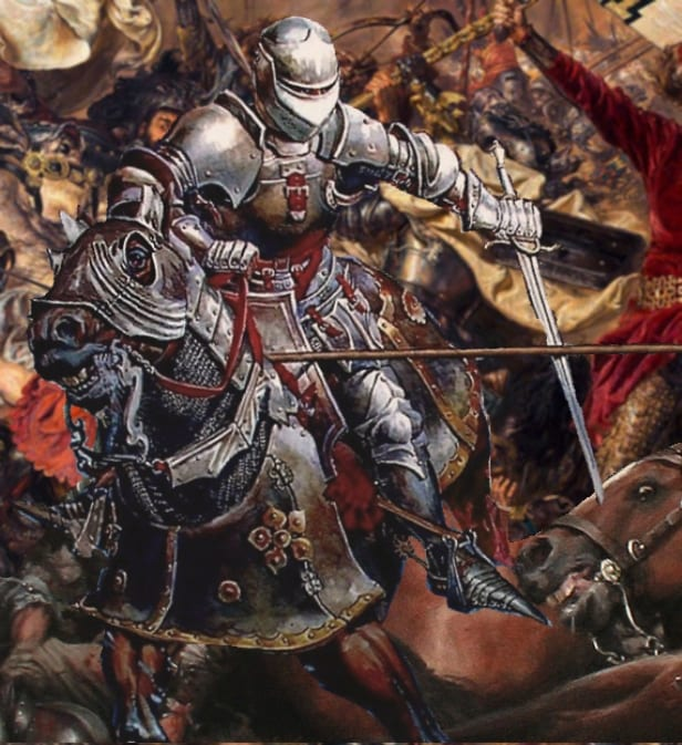 Medieval mind games practiced by the Russian Knight