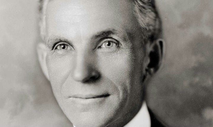 October 22, 1906: Henry Ford rises to president of the Ford Motor Company