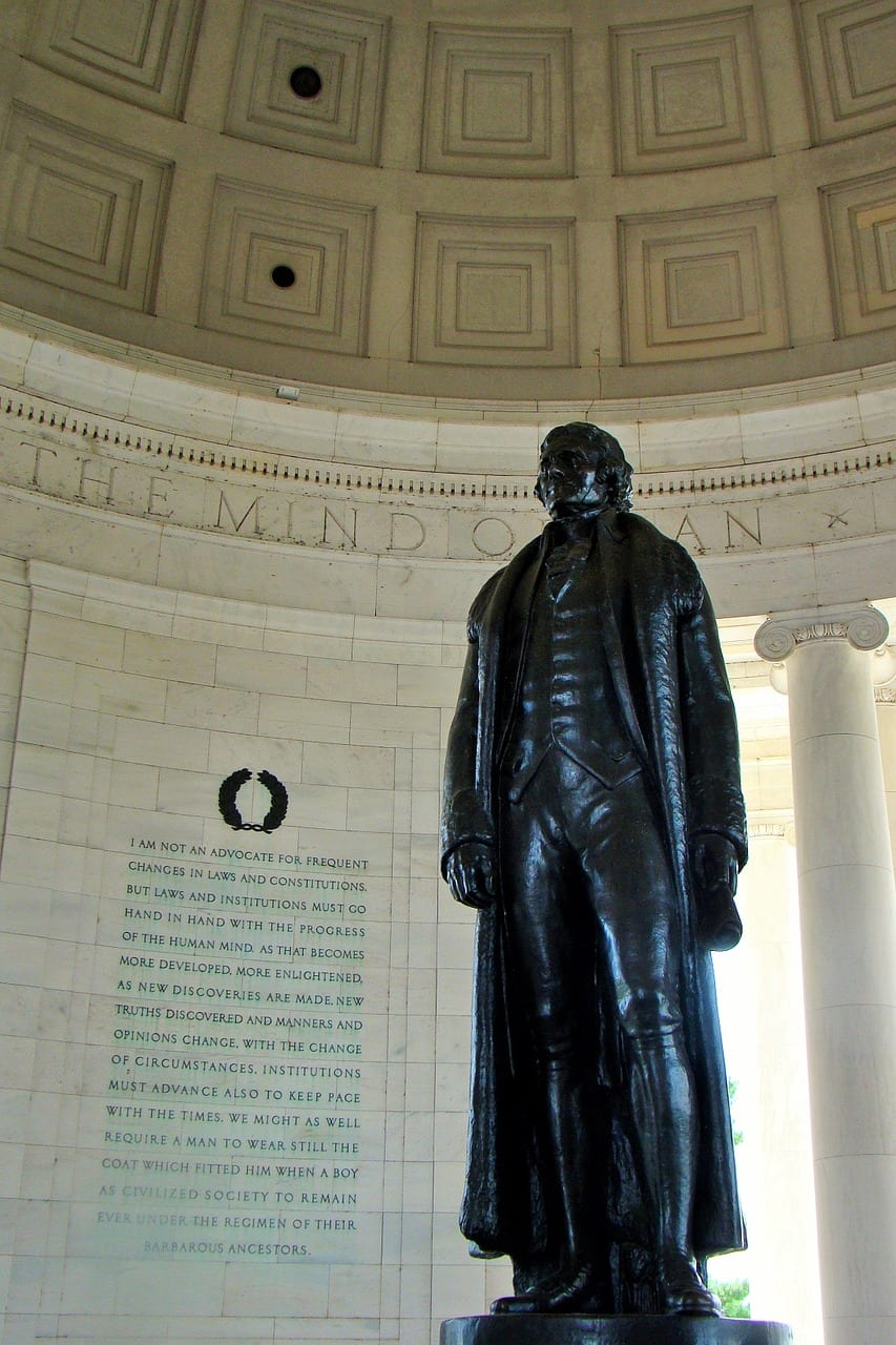 Statue of Thomas Jefferson in D.C.