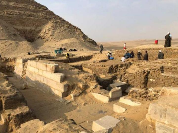 The Tomb of Kaires, the 'Keeper of the Secret' and the Pharoah's 'Sole Friend', found in Egypt