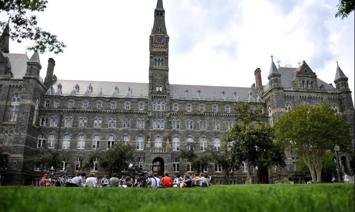 November 15th, 1791: Georgetown University opens its doors