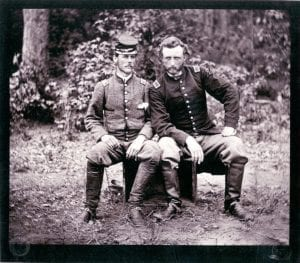civil war, general Custer, union soldiers