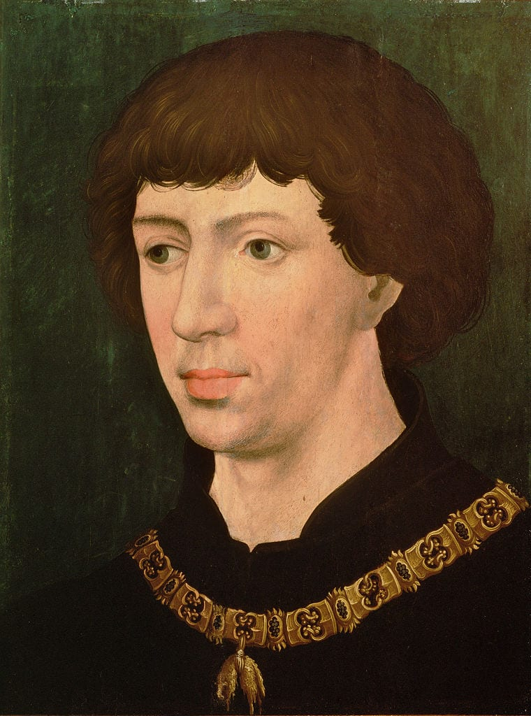 Charles the Bold, ca 1460