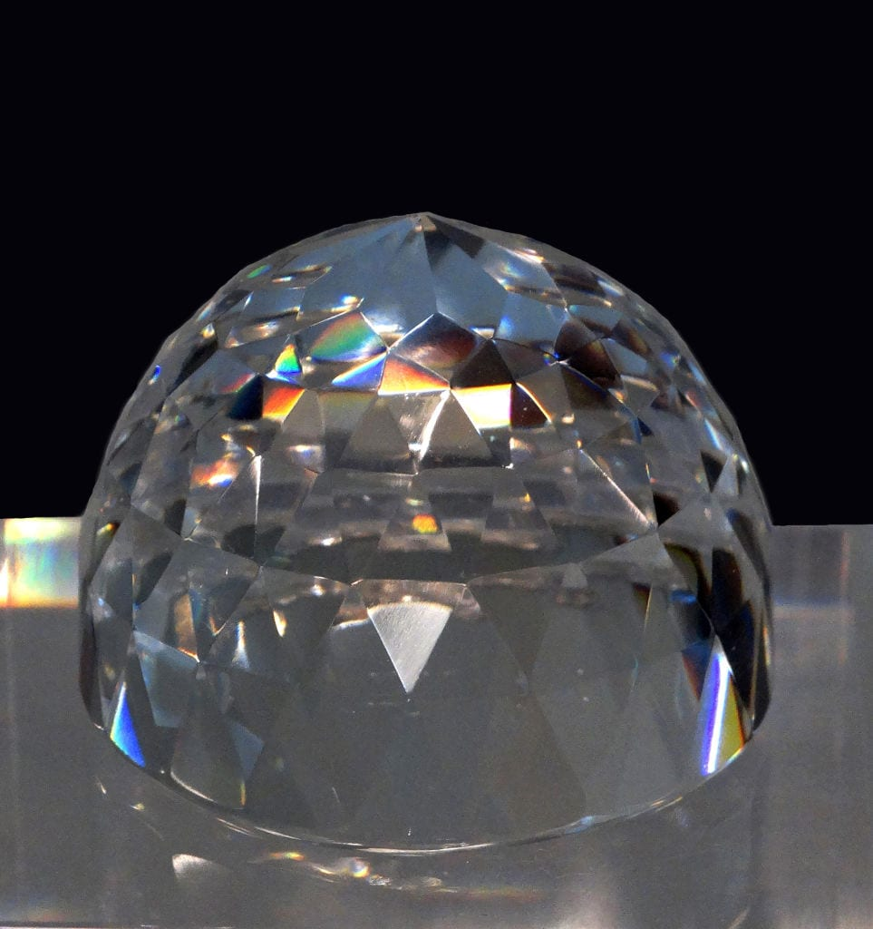 The Orlov Diamond From The Imperial Sceptre Of Russian Empress Catherine The Great