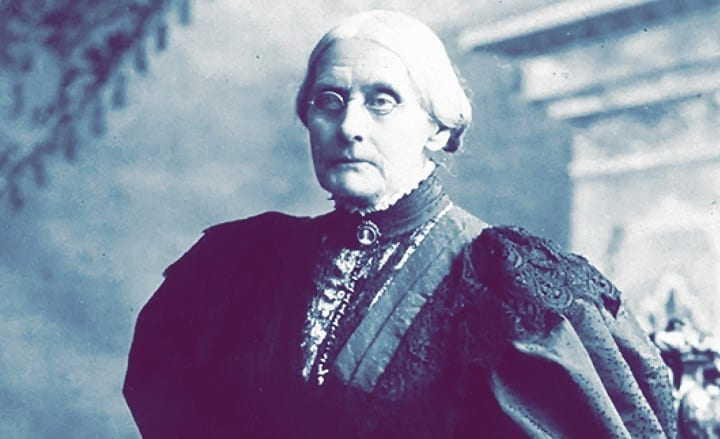 November 18th, 1872: Activist Susan B. Anthony is arrested for voting